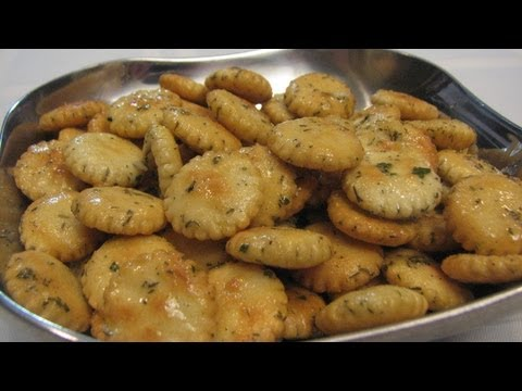 Savory Oyster Crackers -- Lynn's Recipes