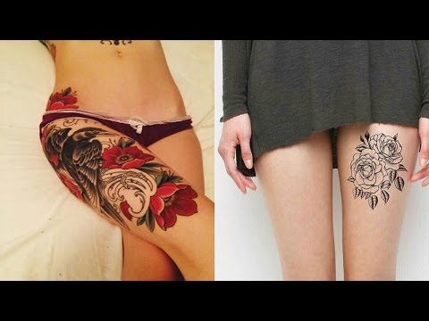Best Thigh Tattoo Designs and Ideas For Women
