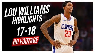 Clippers SG Lou Williams 2017-2018 Season Highlights ᴴᴰ