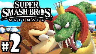 Super Smash Bros Ultimate - King K. Rool Guide - Ice Climbers - Switch Gameplay Walkthrough PART 2