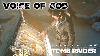 Rise of the Tomb Raider · Voice of God Challenge Tomb Walkthrough Video Guide