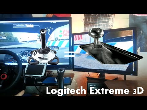 Using a Logitech Extreme 3d Joytick As 6 Speed Gear Shifter | LFS 470hp Turbo 240sx
