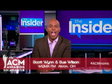 2014 ACM Awards On-Air Personality of the Year Nominees Presented by Kevin Frazier
