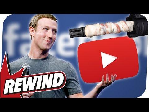 Facebook beklaut YouTuber I Jüdischer Terror I Bacon mit Maschinengewehr I REWIND