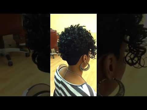 Long Mohawk With Weave ▶ Mohawk Quick Weave Stylist