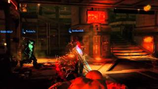 Dead Space 2 Multiplayer, Puker - gameplay [PS3]