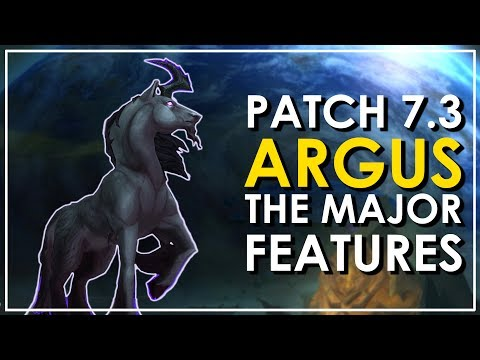 Patch 7.3: Argus - The 8 Epic New Mounts - World of Warcraft Legion