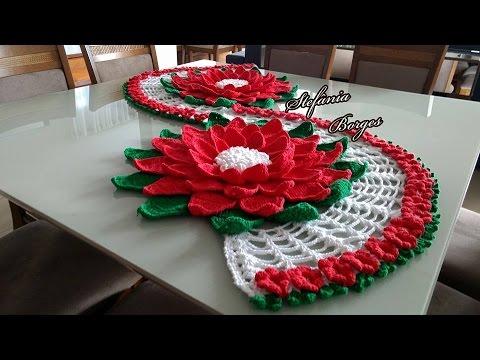 FLOR MARGARIDA (Pode ser usada em trilhos de mesa ou sozinha)