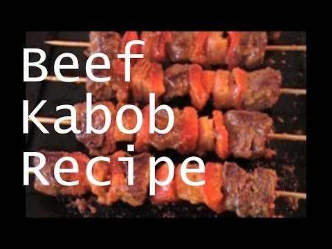 How to Make Pan Fried Beef Kabobs & A Little Bit About Me