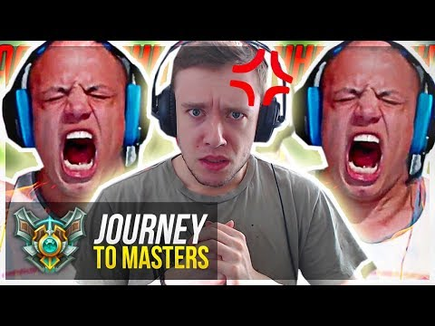 LETTING OUT MY INNER TYLER1..PROMOS!! - Journey To Masters | League of Legends