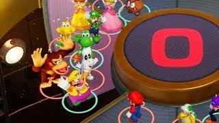 Super Mario Party MiniGames - Mario Vs Luigi Vs Diddy Kong Vs Donkey Kong (Master Cpu)