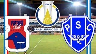 Parana 0 x 0 Paysandu (19/05/2017) Campeonato Brasileiro Série B 2017 - 2° Rodada [PES 2017]