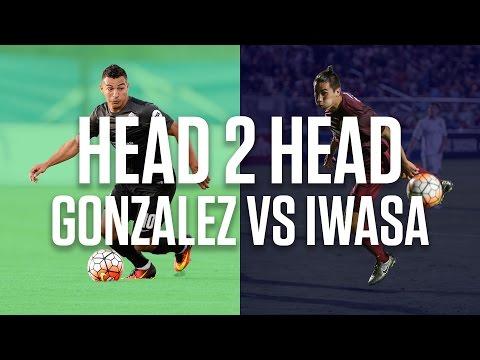 Head2Head: Miguel Gonzalez vs Cameron Iwasa