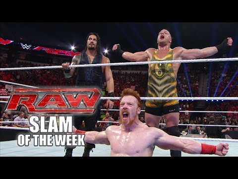 An Unlikely Trio -  WWE Raw Slam of the Week - 8/18