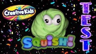 Testuje mase Squish! Creativekids z sklepu TEDI |TEST|