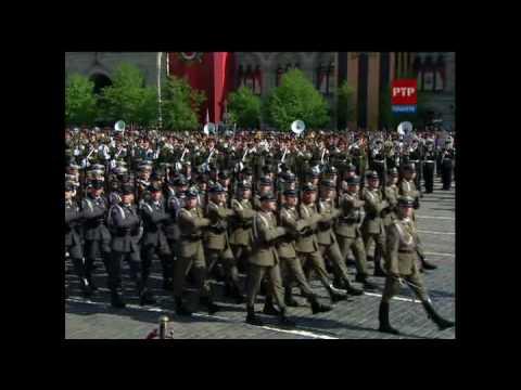 Войска союзников на Параде Победы 2010