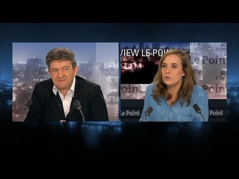 BFM Politique: l'interview de Jean-Luc Mélenchon par Charlotte Chaffanjon du Point - 16/06