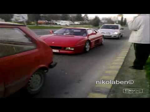 Ferrari 348 Revs and Accelerating(VERY LOUD)Must Watch!!!!