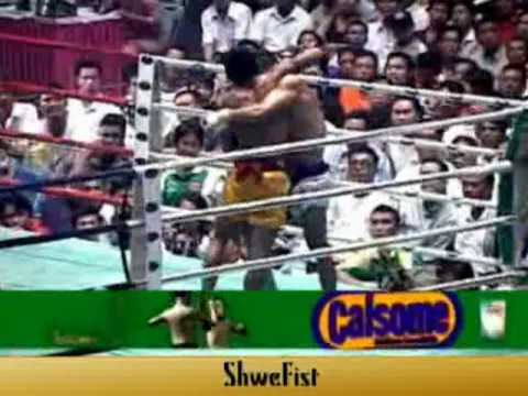 Myanmar Lethwei, Tway McShawn fight #4 Image 1