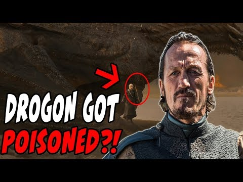 Drogon Got Poisoned Game Of Thrones Season 7