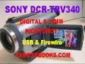 Sony DCR-TRV340 Digital 8 D8 Camcorder Camera