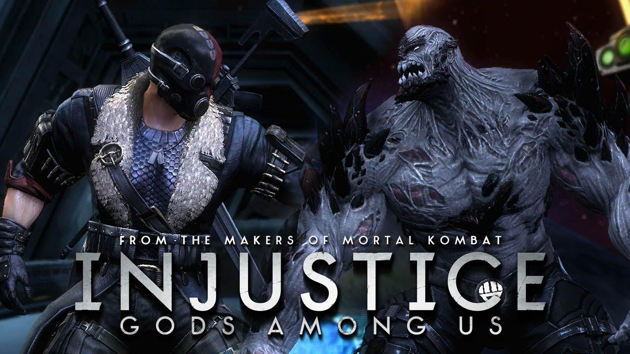 Injustice Gods Among us Doomsday Injustice Gods Among us