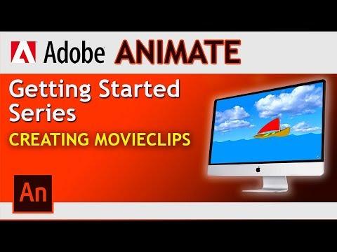 Adobe Animate! How to create Movie Clips in Adobe Animate