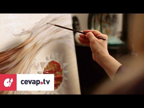 Yağlı boya resim yaparken eskiz tuvale nasıl çizilir?