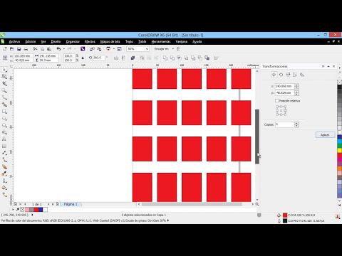 Curso Introducción a CorelDraw X6 - 48 Los Paneles de Transformación