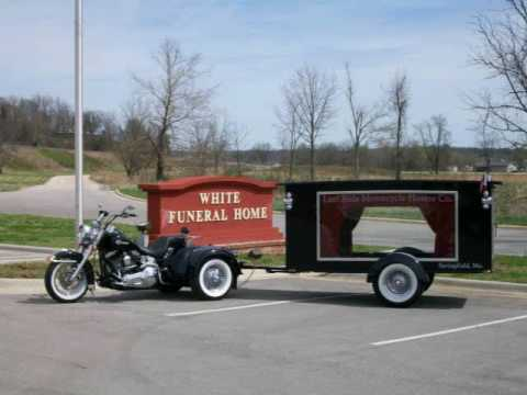 Motorcycle Hearse takes B.A.C.A. President on his Last Ride