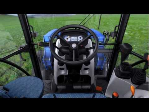 New Holland T4 PowerStar- VisionView™ Cab -  A cab designed around you