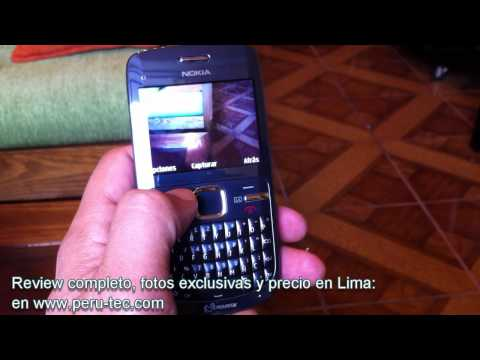 Nokia C3 - Perú-Tec Review