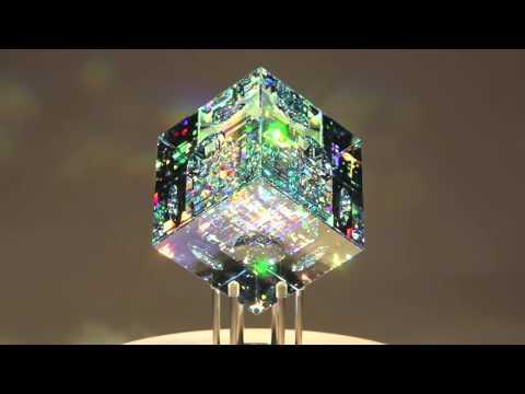 【ガラス彫刻】オシャレでキラキラすぎる綺麗な彫刻家の作品「Jack Storms