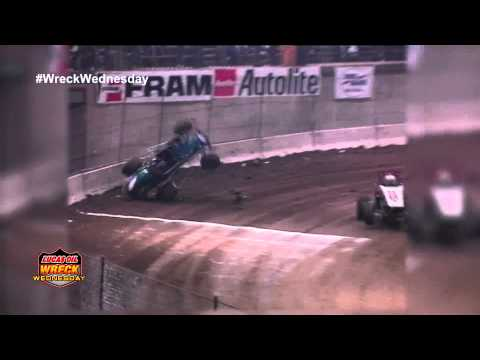 Sprint Car Crash Compilation from The Chili Bowl - WW #13