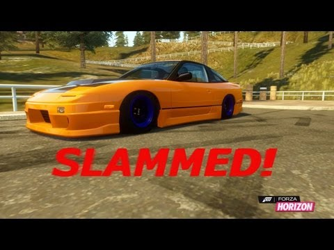 How to Slam Your Car in Forza Horizon