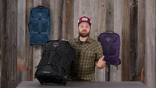 Osprey Packs | Farpoint/Fairview Wheeled | Product Tour
