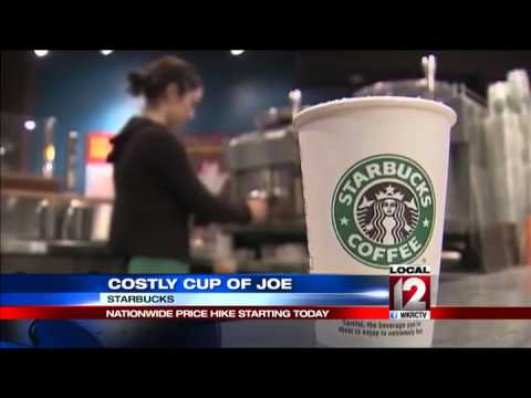 Starbucks: Prices increase 5 to 20 cents Tuesday
