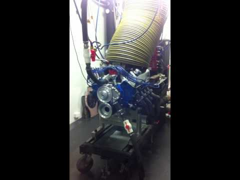 RC Performace Engines & Zagari Engineering 393 Ford Cleveland 691HP on the Engine Dyno