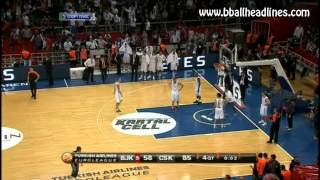 Andrei Vorontsevich anti fair play dunk