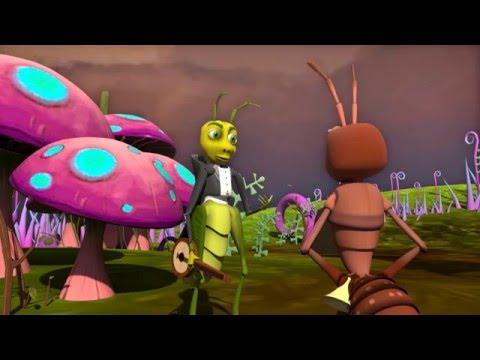 Arena Multimedia - Ant and Grasshoper - 3D Short Film