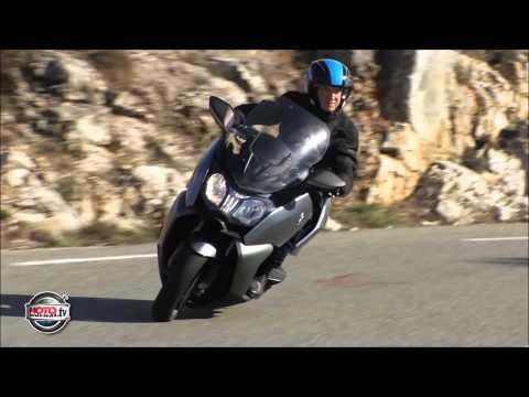 Duel au soleil pour les maxi scoots BMW euro motos