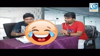 Call Center Comedy I Dubaagkur Maaghaan's I MOON TV