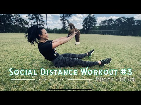Social Distance Workout #3 (Child Dumbbell Edition)