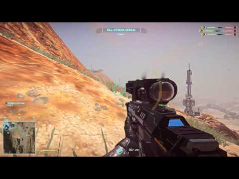 Planetside 2 Sniper 20+ killstreak -