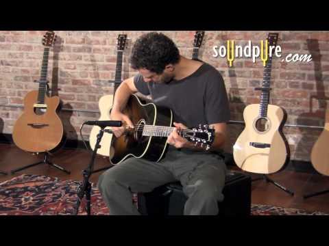 L.R. Baggs Anthem Acoustic Guitar Pickup Demo