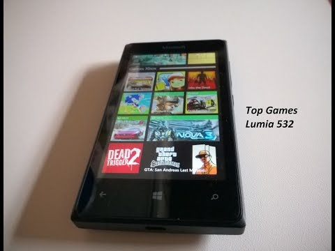 Teste 10 Jogos Pesados Microsoft Lumia 532 - Top Games Windows 8.1