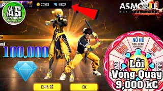 [Garena Free Fire] won 100,000 Diamonds | AS Mobile
