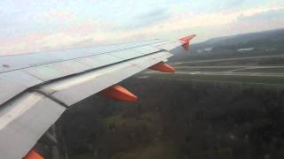 EasyJet TakeOff @ Zurich and BreakTrough the clouds. RW28