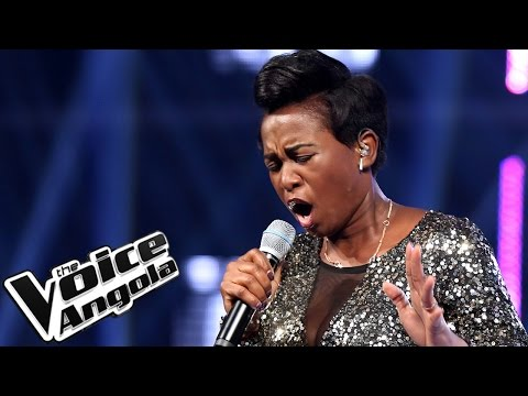 "Mariedne Feliciano canta ""You Gonna Love Me"" / The Voice Angola 2015 / Show ao Vivo 4"