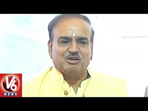 BJP MP Ananth Kumar Reacts On Congress Party Alliance & PM Candidate | V6 News
